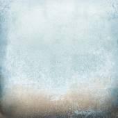 Bright blue rusty pattern — Stock Photo