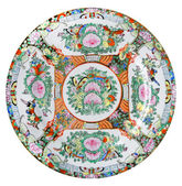 One chine plate — Stock Photo