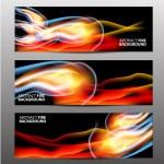 Banners wavy design — Stock Vector #62433173
