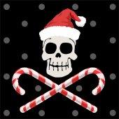 Pirate christmas — Stock Vector