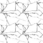 Realistic broken glass seamless pattern — Stock Vector