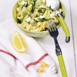 Pasta with ricotta and beans — Stock Photo #65777971