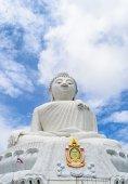 The Biggest white holy Buddha — Photo