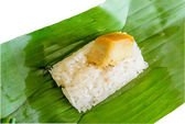 Rice dessert — Stock Photo