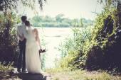 La novia y el novio — Foto de Stock