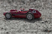 Model of a classic single seater car — Stock Photo
