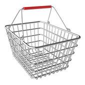 Vector empty shopping basket — Stock Vector