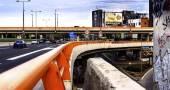 Autobahn-Stadtlandschaft — Stockfoto