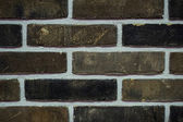 Background of brown brick wall texture — Stock Photo