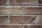 Texture brick wall made of light beige  — ストック写真