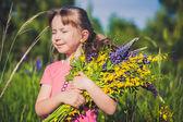 Child, summer, sun — Stock Photo
