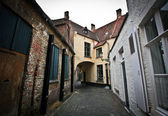 The streets of Bruges — Stock Photo