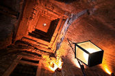 Teto da antiga fortaleza — Fotografia Stock