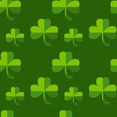 St. Patrick's Day pattern — Stock Vector