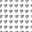 Abstract background is in the hearts — Stock Vector #62042829