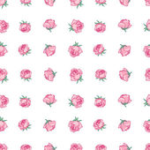 Rosebuds background is pink — Stock Vector