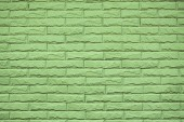 Green wall of house — Stock Photo