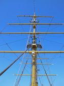 Mast of Tallship — Stock Photo
