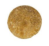 Pancake on the white background — Stock Photo