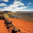 Mountains of fire,Timanfaya National Park in Lanzarote Island — Stock Photo #58807047