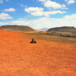 Mountains of fire,Timanfaya National Park in Lanzarote Island — Stock Photo #58843069