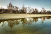 Baltic sea at beautiful landscape — Stock Photo