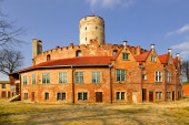Famous Wisloujscie fortress — Stock Photo
