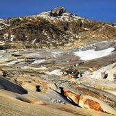 在瑞士的阿尔卑斯山冰川 — 图库照片