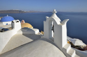 Architecture of Greece, Santorini, Oia — Stock Photo