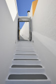 White concrete staircases — Stock Photo
