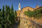 Tuscany, Pienza italian medieval village. Siena, Val d Orcia, Italy. — Stock Photo