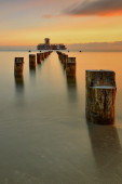 Baltic sea at beautiful landscape — Stock fotografie
