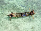 Kids at Mabul island, Malaysia — ストック写真