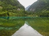 Jiuzhaigou Valley National park in China — Foto de Stock