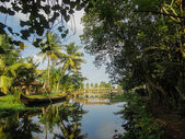 Alleppey, India — Foto de Stock