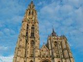 Katedrali'nin bizim bayanın Antwerp, Belçika — Stok fotoğraf