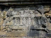 インドネシアのボロブドゥール寺院 — ストック写真