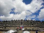 Borobudur Tapınağı Endonezya — Stok fotoğraf