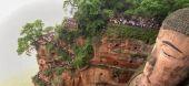 Leshan Giant Buddha — Stock Photo