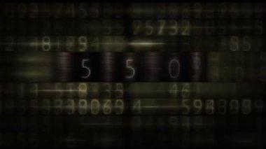 Infinite counter — Stock Video
