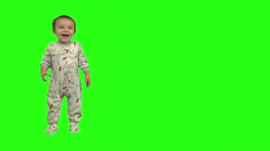 Baby boy laughing — Stock Video
