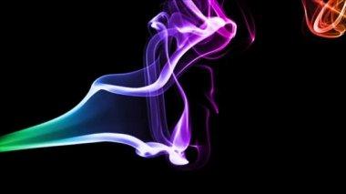 Fumée colorée — Vidéo