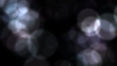 Animated, out of focus spots of light. — Vidéo