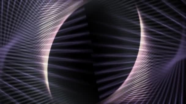 Barras de animación abstractas. — Vídeo de stock