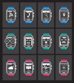 Smart watch concept — Stock Vector