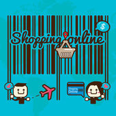Online shopping — Stock Vector