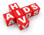HIV and AIDS — Stockfoto