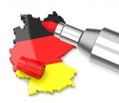 Germany cut costs — Stock Photo