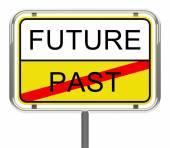 Future-past — Stock Photo