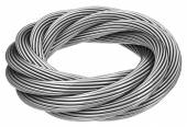The endless steel rope — Stock Photo